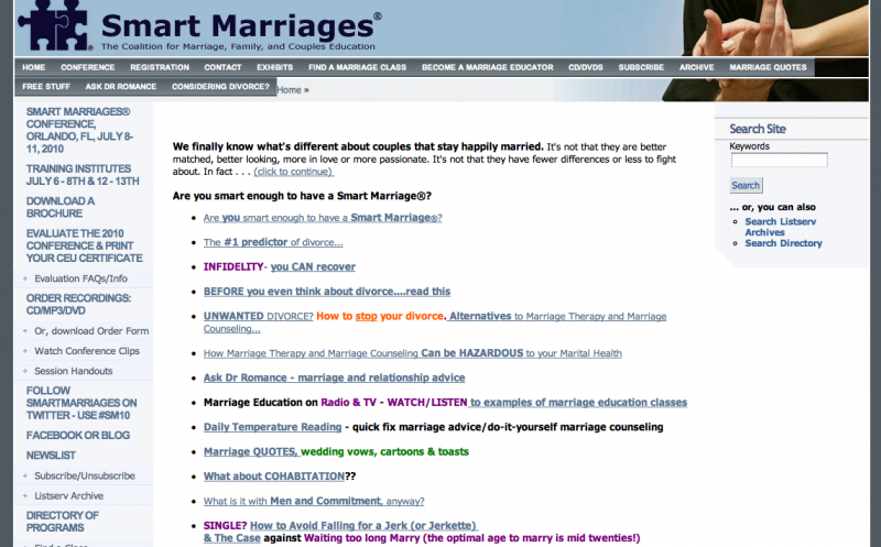 smartmarriage.com